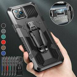 Shockproof Hybrid Armor Case For iPhone 13 12 Pro Max 11 XS XR 8 7 Plus SE Cover $7.37