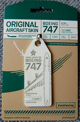 Aviationtag : CATHAY PACIFIC AIRWAYS : Boeing 747 400 B HUJ : WHITE GBP 21.95