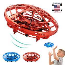 Mini Drone Quad Induction Levitation UFO Flying Toy Hand controlled Kids Gift $9.99