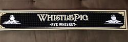 Whistle Pig Rye Bar rail new 21 Inch Long By 3 Inch Commercial Grade Rubber