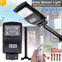 990000LM Commercial Solar Street Light LED Outdoor IP65 Dusk to Dawn Road Lamp