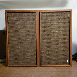 Pair Vintage Fisher Model XP 7 Early 70quot;s Speakers Tested Great Sound $300.00