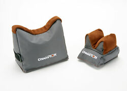 Champion Two Tone Prefilled Benchrest Shooting Bags Pair. 40468 $56.95