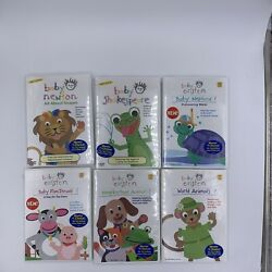 Lot of 6 Disney#x27;s Baby Einstein DVD All About Shapes Baby Neptune Etc New $22.95