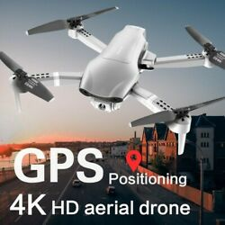 Professional F3 Drones GPS 5G WIFI FPV 4K HD Wide Angle Foldable Quadcopter $156.00