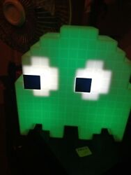 Pac Man Ghost Light USB Powered Multi Colored Lamp Light Party Sound Activated $22.90