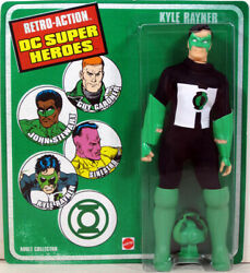 KYLE RAYNER Retro Action DC Super Heroes Figure Green Lantern Exclusive Mego $9.99