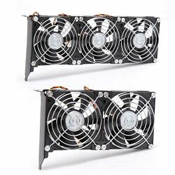 PCIe 3 Fan GPU Cooler Computer Chassis Video Graphics Card Cooling Fans 90mm $21.99