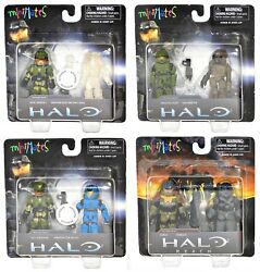 Minimates HALO Reach Series 1 TRU 8 Figure Set $69.98