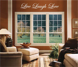 NEW custom LIVE LOVE LAUGH wall art ANY COLOR home decor wall decal $17.95