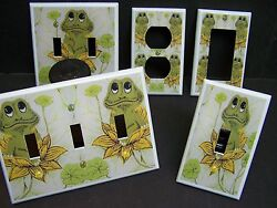 NEIL THE FROG RETRO 70'S SEARS FROG  LIGHT SWITCH  COVER PLATE OR OUTLET  $6.29