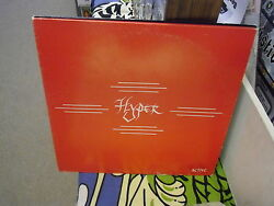 HYPER Active vinyl LP 1985 private press IOWA Metal Hard Rock VG+
