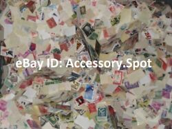 Used 1000 US OFF PAPER Stamps From a huge hoard box collection USA
