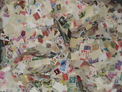 Used 1000 US OFF PAPER Stamps From a huge hoard box collection USA $10.99