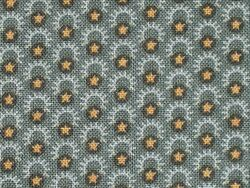star cotton fabric ray crescents 100% cotton gray cotton material by the yard $10.40