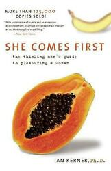 She Comes First by Ian Kerner (English) Paperback Book Free Shipping!