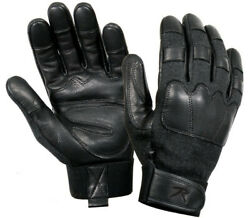 tactical gloves leather cut and flame resistant rothco 3483 various sizes $27.99