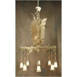 2nd Ave Lighting Jungle Monkey Chandelier - 87552-48-DC