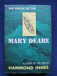 THE WRECK OF THE MARY DEARE by HAMMOND INNES - SIGNED by HESTON COOPER