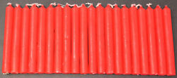 20 India Red Mini Chime Spell Candles Pagan Ritual Altar Wicca $8.50