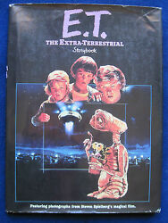 E.T. STORY BOOK - SIGNED by STEVEN SPIELBERG DREW BARRYMORE Author Cast Crew