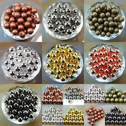 Wholesale Smooth Round Metal Copper Spacer Beads 2.4mm 3mm 4mm 5mm 6mm 8mm 10mm $4.99