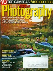 2009 Popular Photography Magazine: 30 Most Photo Friendly Cities 10 Top Cameras $3.50