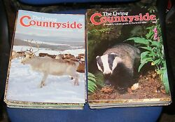 THE LIVING COUNTRYSIDE MAGAZINE VARIOUS ISSUES 61 85 GBP 5.99