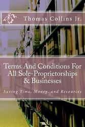 Terms and Conditions for All Sole-Proprietorships & Businesses: Saving Time Mon
