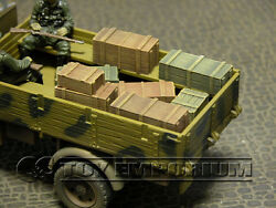 quot;RETIREDquot; Build a Rama 1:32 WWII Deluxe Small Crate Set #2 7 Piece Set $30.99