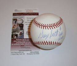 RED SOX George Scott signed baseball w 8X Gold Glove JSA COA AUTO Autographed