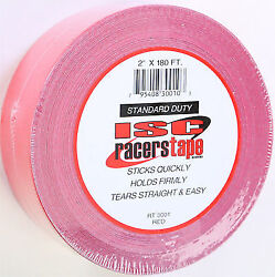 ISC Red Racers Tape PN: RT RED $15.99