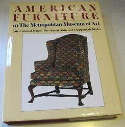 American late Colonial ChairTableChestBed FurnitureMuseum Hardcover Catalog