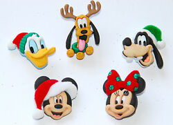 Holiday Heads Disney Dress It Up Mickey amp; Minnie Mouse Goofy Pluto $4.20