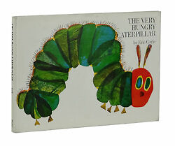 The Very Hungry Caterpillar ~ ERIC CARLE ~ True First Edition 1st Printing 1969