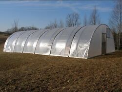 16 x 48 ft Quonset Greenhouse Kit - Hoop House - Cold Frame - High Tunnel