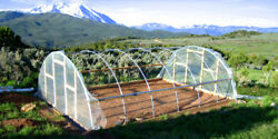 28 x 28 ft Quonset Greenhouse Kit - Hoop House - Cold Frame - High Tunnel