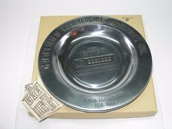 GARLAND COMMERCIAL INDUSTRIES FREELAND PA 1974 1984 METAL PLAQUE