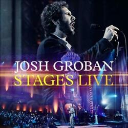 JOSH GROBAN STAGES LIVE CD DVD * NEW CD $15.42