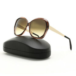 Victoria Beckham Happy Butterfly Sunglasses VBS4 C3 Balsamic  Brown Gradient 59