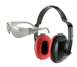 NEW TITUS SHOOTING RANGE EAR MUFFS HEARING PROTECTION NOISE REDUCTION GUN FIRING $7.99