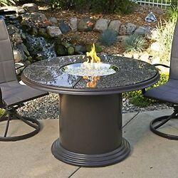 Ogtr-gc48dink-outdoor Great Room 48-inch Dining Table With British Granite Top