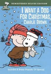 I WANT A DOG FOR CHRISTMAS CHARLIE BROWN NEW DVD $17.22