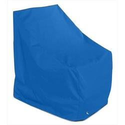 KoverRoos Weathermax Adirondack Chair Cover Pacific Blue 37 W x 40 D x 41 H in.