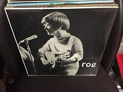 ROG ST self-titled vinyl LP RARE Folk Private Press Rog Rechenmacher SEALED