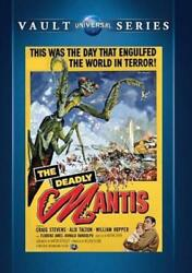 THE DEADLY MANTIS NEW DVD $18.77