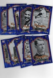 2012 Panini Cooperstown Blue Crystal Parallel Lot 499 Choose Any Build Set $1.49