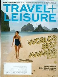 2013 Travel amp; Leisure Magazine: World#x27;s Best Awards Top Cameras Best Island $4.50