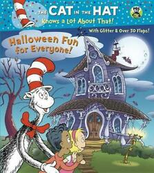 Halloween Fun for Everyone Dr. Seuss Cat in the Hat by Tish Rabe English Bo $11.78