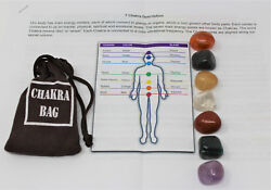 7 Chakra Crystal Healing Stone Set 7 Tumbled Stones Instructions